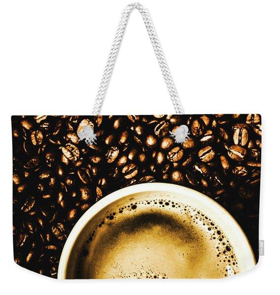 Espresso Roast Weekender Tote Bag