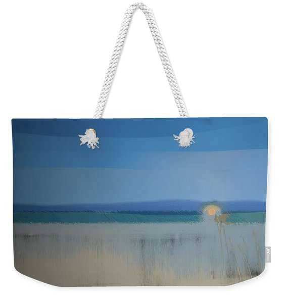 Weekender Tote Bag featuring the digital art Essentials by Gina Harrison