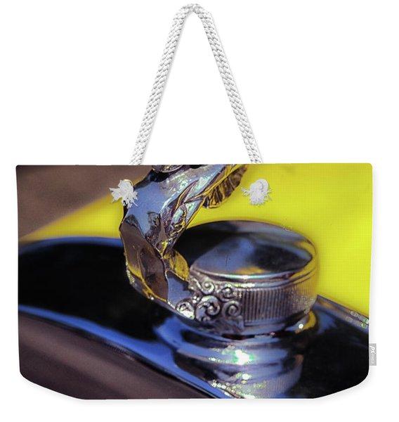 Essex Super 6 Hood Ornament Weekender Tote Bag