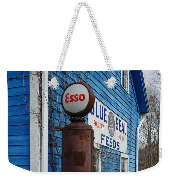 Esso On The Farm Weekender Tote Bag