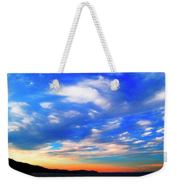 Estuary Skyscape Weekender Tote Bag