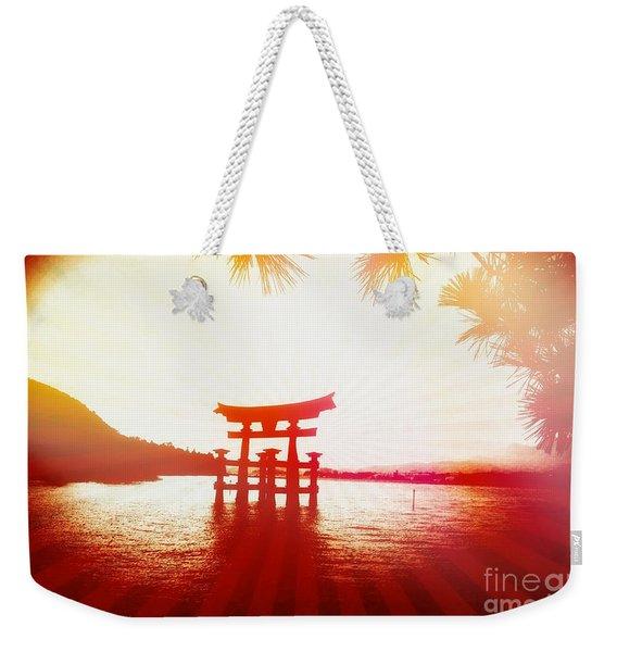 Eternal Japan Weekender Tote Bag