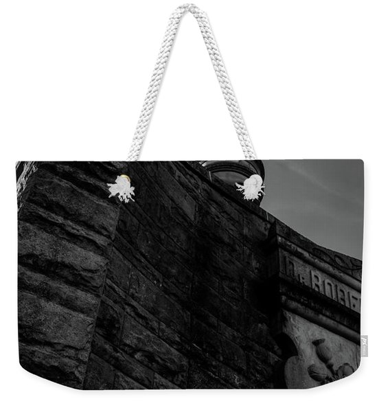 Eternal Stone Structure Bw Weekender Tote Bag