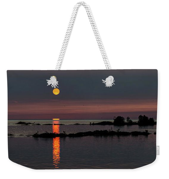 Weekender Tote Bag featuring the photograph Eternal Summer by Doug Gibbons