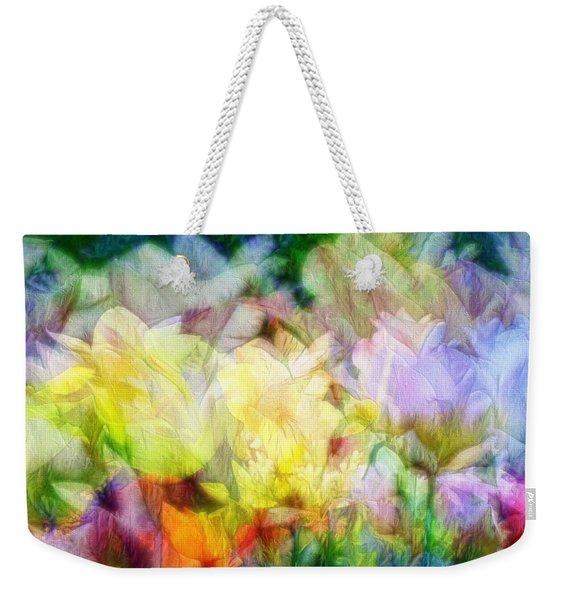Ethereal Flowers Weekender Tote Bag