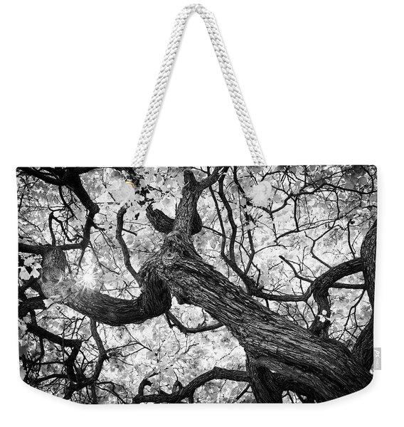 Ethereal Maple Weekender Tote Bag