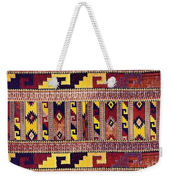 Ethnic Tribal Weekender Tote Bag