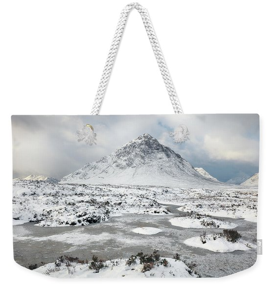Etive Mor Winter Weekender Tote Bag