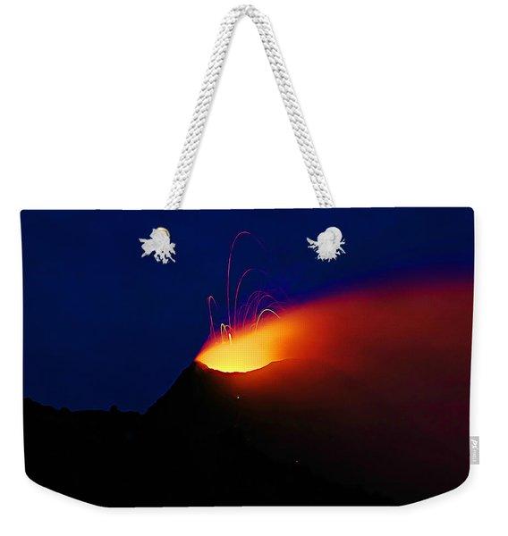 Etna Weekender Tote Bag