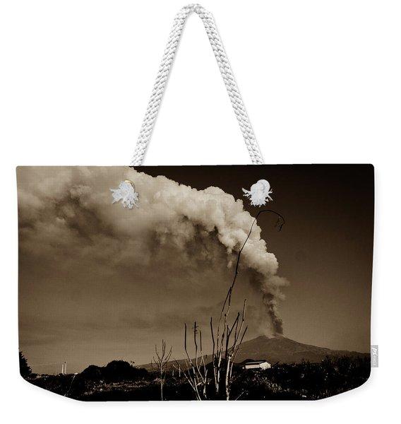 Etna, The Volcano Weekender Tote Bag