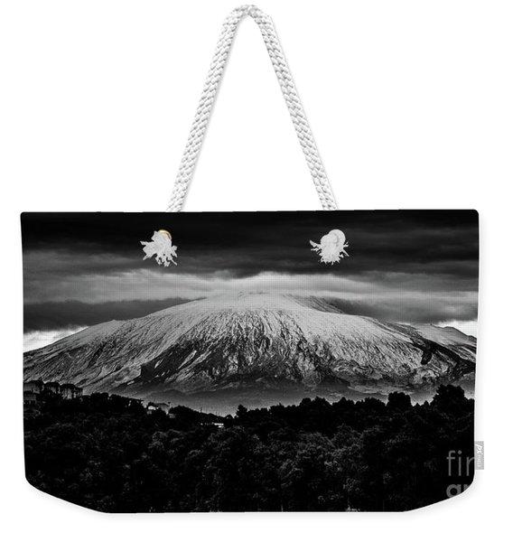 Etna, The West Side Weekender Tote Bag