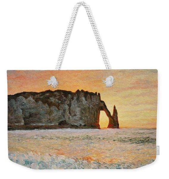 Etretat, Sunset  Weekender Tote Bag