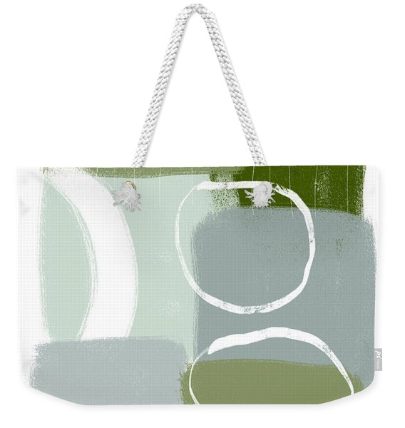 Eucalyptus Breeze  2- Art By Linda Woods Weekender Tote Bag