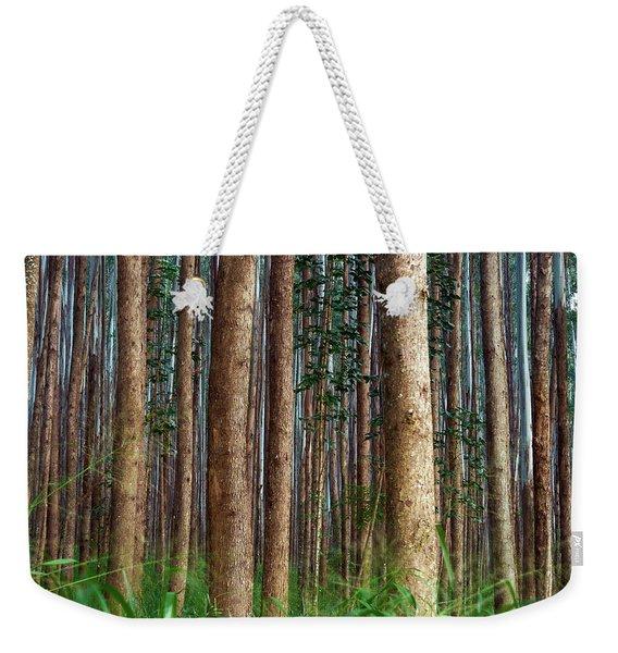 Eucalyptus Forest Weekender Tote Bag