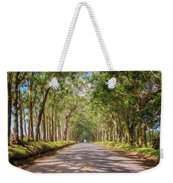 Eucalyptus Tree Tunnel - Kauai Hawaii Weekender Tote Bag