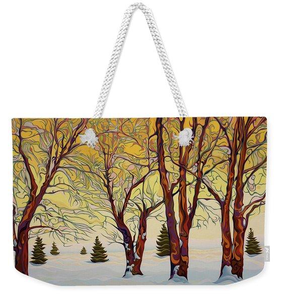 Euphoric Treequility Weekender Tote Bag
