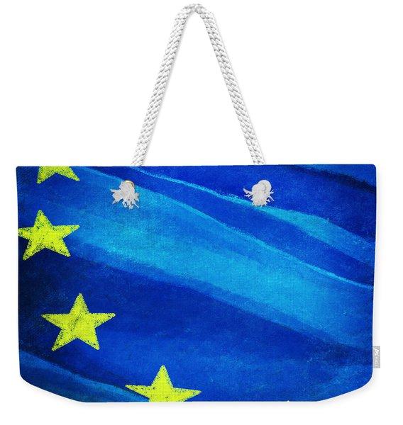 European Flag Weekender Tote Bag