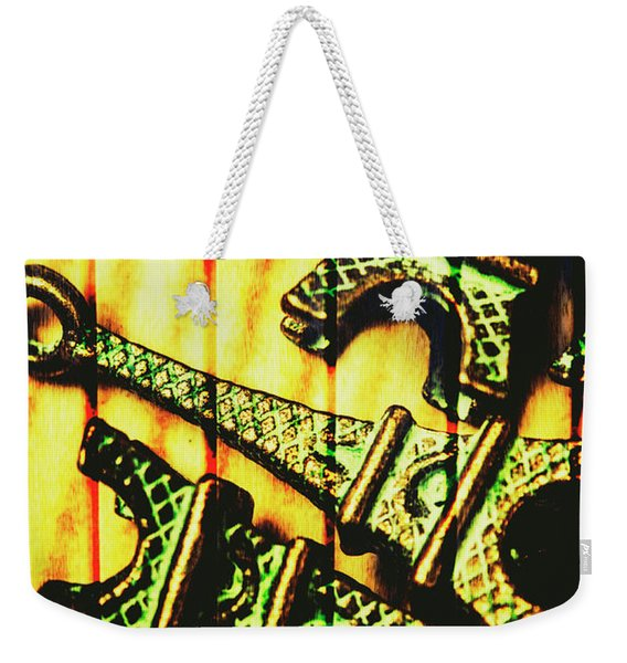 European Wall Art Weekender Tote Bag