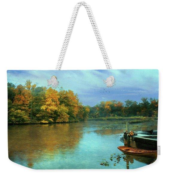 Evans Pond Weekender Tote Bag