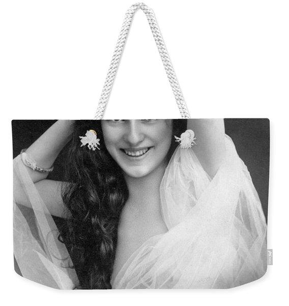 Evelyn Nesbit (1885-1967) Weekender Tote Bag