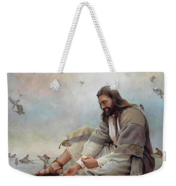 Even A Sparrow Weekender Tote Bag