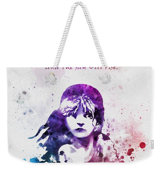 Even The Darkest Night Will End Weekender Tote Bag