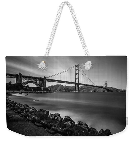 Evening At Golden Gate Bridge Weekender Tote Bag