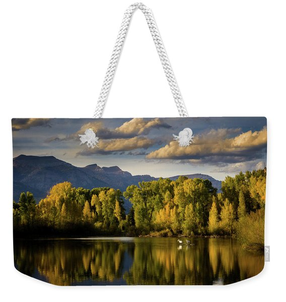 Evening At Indian Springs Weekender Tote Bag