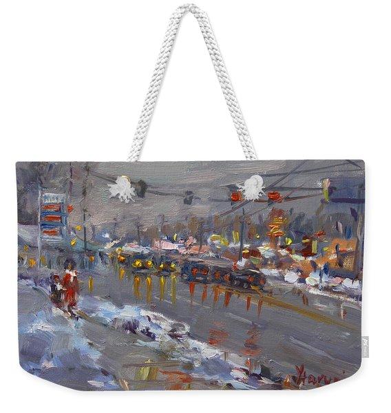 Evening At Niagara Falls Blvd Weekender Tote Bag