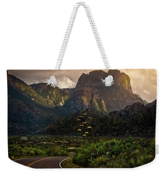 Evening At The Chisos Weekender Tote Bag