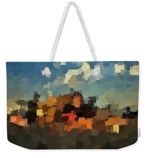 Evening At The Farm Weekender Tote Bag