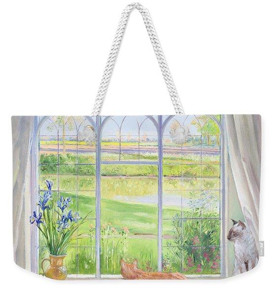 Evening Breeze Weekender Tote Bag