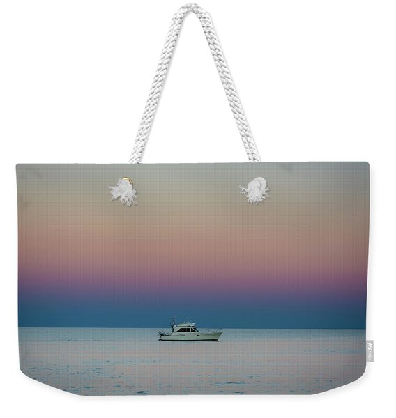 Evening Charter Weekender Tote Bag