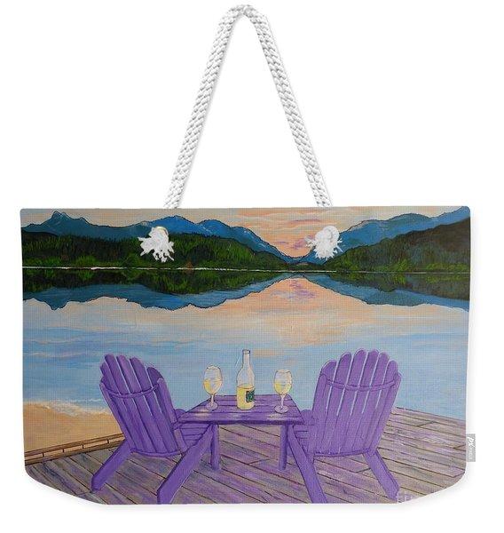 Evening Delight Weekender Tote Bag