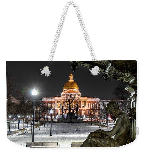 Evening Gaze Weekender Tote Bag