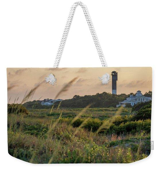 Evening Light Sullivan's Island Weekender Tote Bag