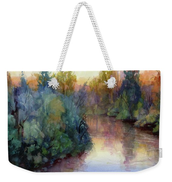 Evening On The Willamette Weekender Tote Bag