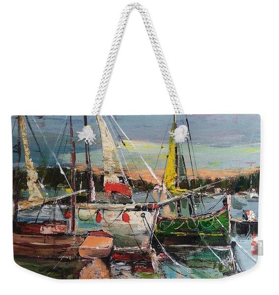 Evening Pause Weekender Tote Bag
