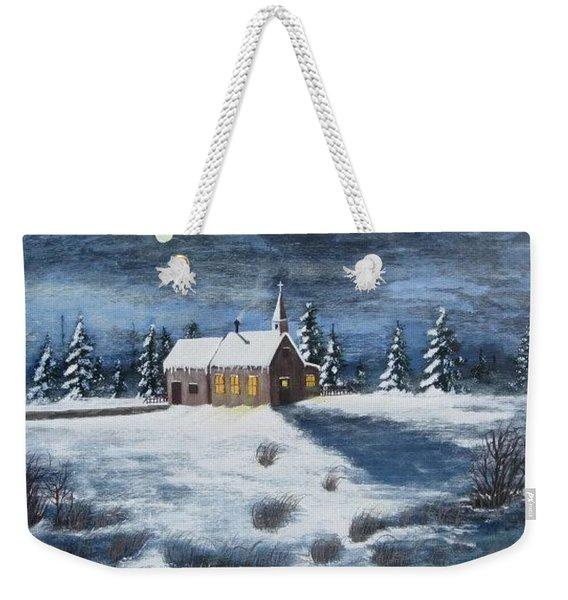 Evening Prayers Weekender Tote Bag