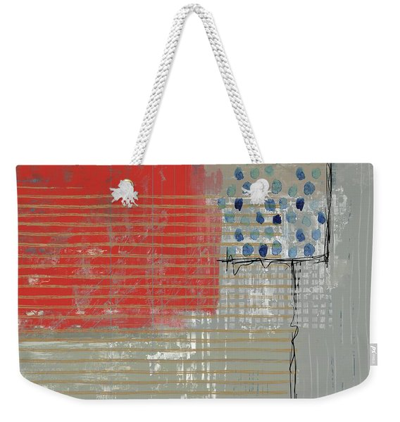 Evening Red Weekender Tote Bag
