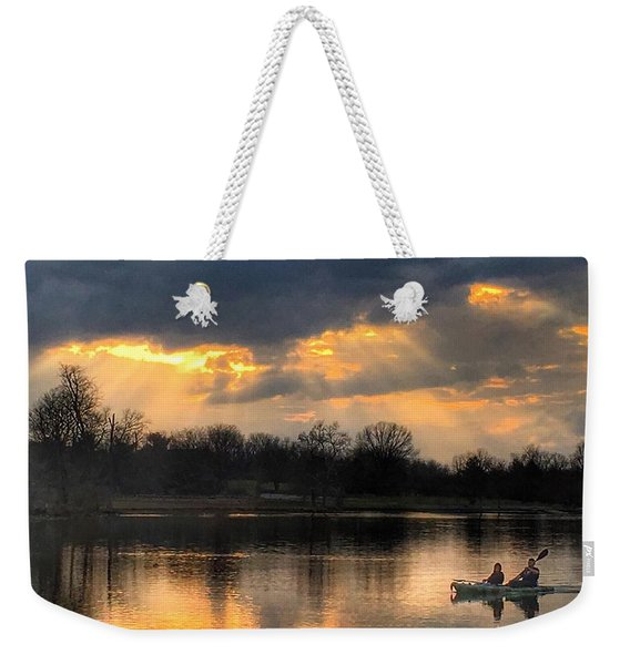 Evening Relaxation Weekender Tote Bag