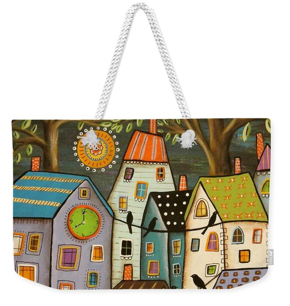 Evening Song Weekender Tote Bag