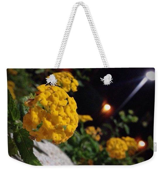 Evening Spring Weekender Tote Bag