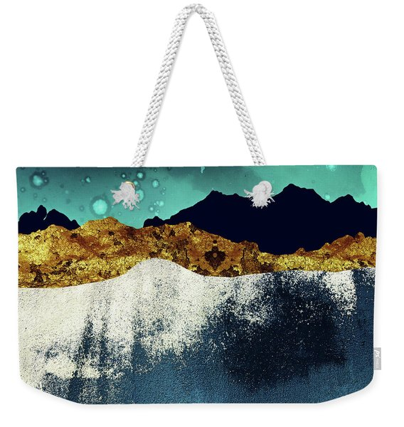 Evening Stars Weekender Tote Bag