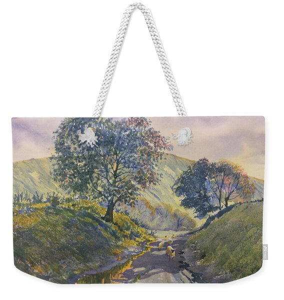 Evening Stroll In Millington Dale Weekender Tote Bag
