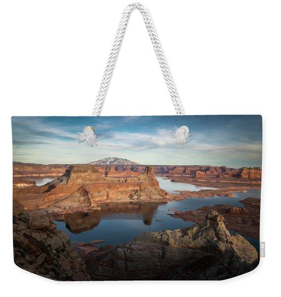 Evening View Of Lake Powell Weekender Tote Bag