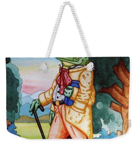Evening Walk Weekender Tote Bag