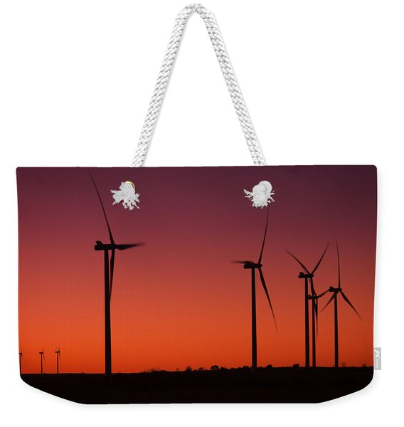 Evening Wind Weekender Tote Bag