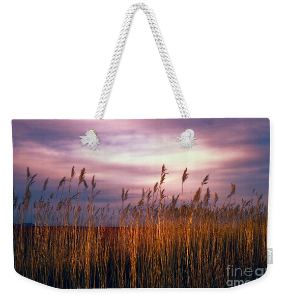Evening's Candles Weekender Tote Bag
