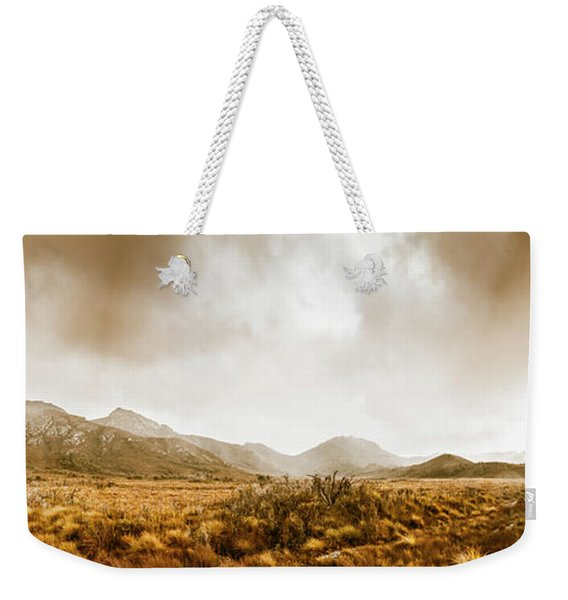 Ever Expansive Tasmania Weekender Tote Bag